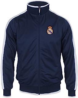 Real Madrid - Chaqueta de Entrenamiento Oficial - para niño - Estilo Retro