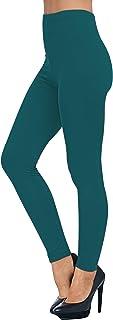 AUSELILY Damen Leggings mit hoher Taille, Bequeme, schmale Hosen, Stretch-Leggings