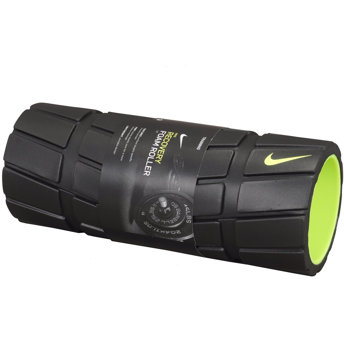 Desviación Superar Baya  Nike Unisex Adult Nike Recovery Foam Roller 13In 13I, Misc Foam Rollers -  Black/Volt, One Size: Buy Online at Best Price in UAE - Amazon.ae