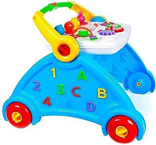 Andador Didático Infantil Azul com sons de animais - Poliplac