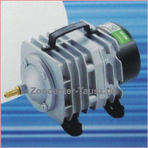 HAILEA ACO-388D Kolben Kompressor Durchlüfter Teichbelüfter 80W 4800L/h