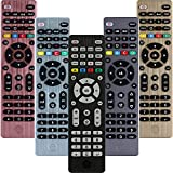 GE Universal Remote Control for Samsung, Vizio, LG, Sony, Sharp, Roku, Apple TV, RCA, Panasonic, Smart TVs, Streaming Players, Blu-ray, DVD, 4-Device, Black, 34457