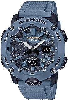 Men's Casio G-Shock Analog-Digital Carbon-Resin Blue Camoflauge Dial Watch GA2000SU-2A