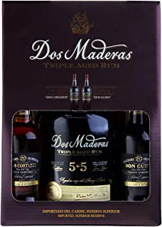 Williams & Humbert DOS MADERAS PX 5YO5YO Rum im Geschenkset mit 2 Sherrys Spirituose 1 x 0.7 l  2 x 0.1 l