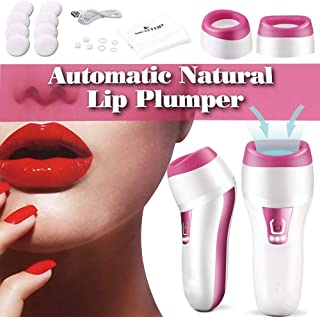 Electric Lip Plumper Devices Automatic Thicker Pumps (purple)