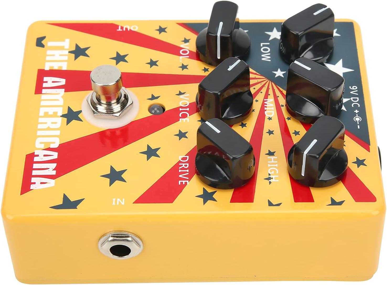 Pedal de sonido americano, sonido de pedales de guitarra para transmisión en vivo para principiantes