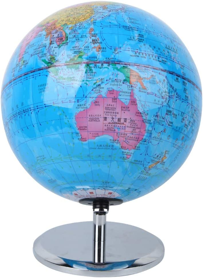 Inexpensive Globe with Led Surprise price Light Educational for Base Metal Scho