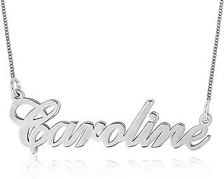 925 silver name necklace