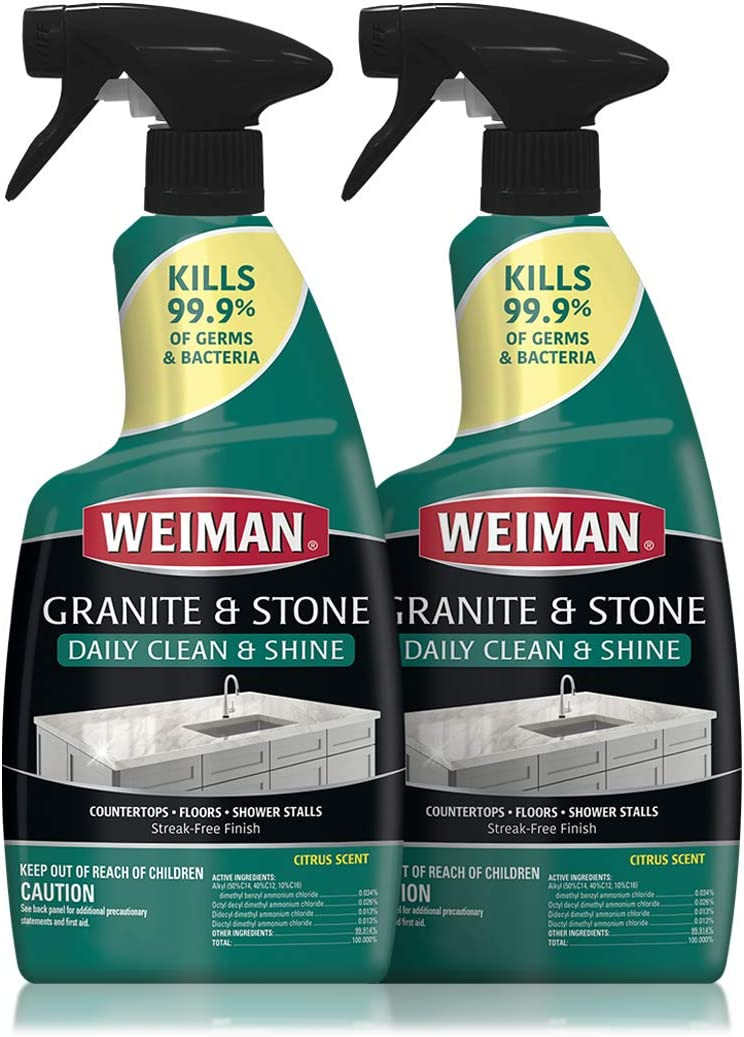 Weiman Disinfectant Granite Daily Clean Ounce Pack Shine 32 San Antonio Mall 2 New arrival