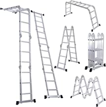 Best multi purpose folding aluminium ladder Reviews