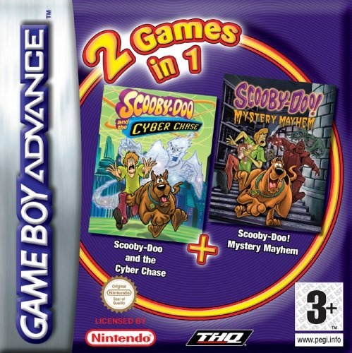 Scooby Doo Cyber Chase/Mystery Mayhem (GBA) by THQ