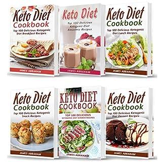 Keto Diet Cookbook: Bible of 6 Books audiobook cover art