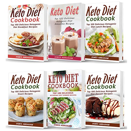 Keto Diet Cookbook: Bible of 6 Books audiobook cover art