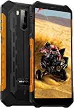 "$159 » Ulefone Armor X5 Unlocked Rugged Phones, Android 10 Octa-core 3GB + 32GB, 13MP+2MP+5MP Triple Camera 5.5"" HD+ Screen IP68 Waterproof Smartphone, 5000mAh Battery Dual 4G Rugged Smartphones -Orange"