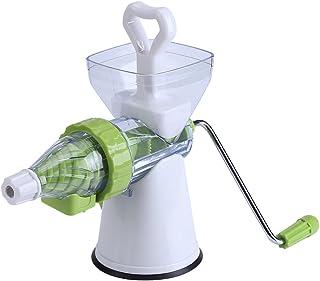 Oumefar Exprimidor Manual ecológico, Extractor de Jugo cómodo, exprimidor Manual de manivela fácil de Limpiar, Cocina para...