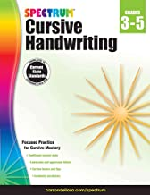 [(Spectrum Cursive Handwriting, Grades 3 - 5)] [By (author) Spectrum] published on (January, 2015)