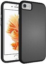 iPhone 7 Case, Hybrid Shock Modern Slim Non-Slip Grip Cell Phone Case for Apple iPhone 7 (2016) (Black)