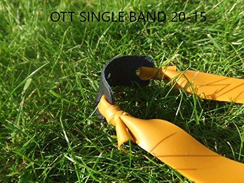 Preisvergleich Produktbild Fire Power Übungsband,  Theraband Gold,  1 Stück OTT. Konisch 20-15