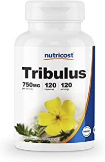 Nutricost Tribulus Terrestris Extract 750mg, 120 Capsules