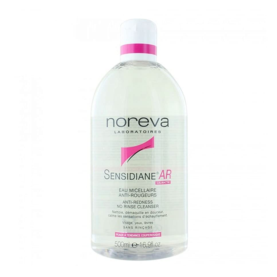 一口温度計十億Noreva Sensidiane Ar Anti-redness No Rinse Cleanser 500ml [並行輸入品]