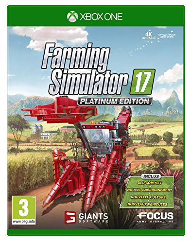 Farming Simulator 17 - Edition Platinum - Xbox One [Edizione: Francia]