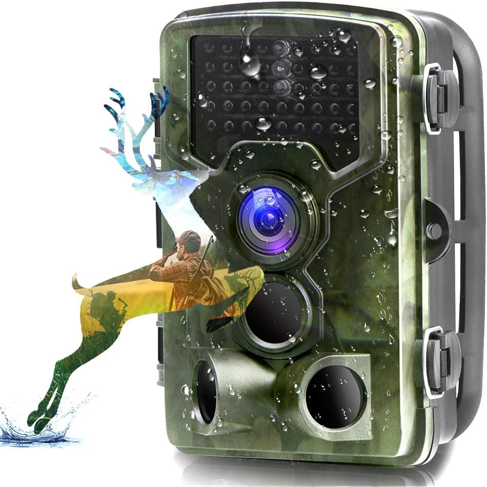 overseas Trail Camera New color Binrrio 16MP 1080P Game Hunting 120with