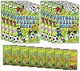 KSS Fußball Set 16 Teilig 8 X Zauberblock und 8 X Rätselbuch für Kindergeburtstag , als Mitbringsel , Mitgebsel ,Verlosung , Tombola