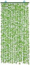 Blad String Gordijn Deur Kralen Deur Gordijn Kunstmatige Groene Planten Rotan Thuis Indoor Outdoor Slaapkamer Woonkamer De...
