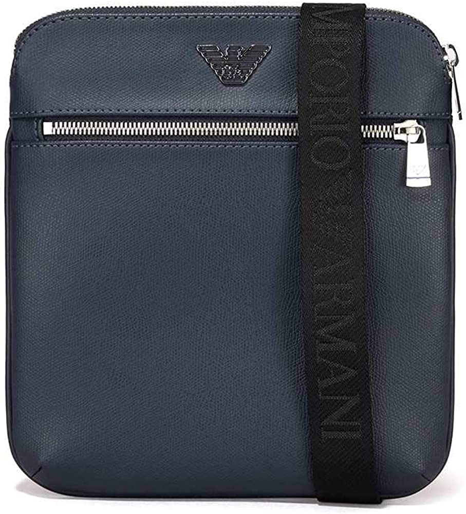 Emporio Armani Small flat messenger bag