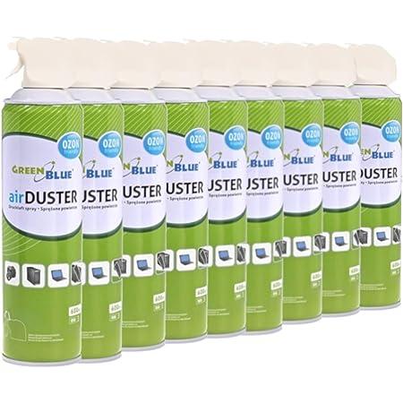 GreenBlue GB600 Air Duster 9x600ml Nettoyage atomiseur spray nettoyant pour air comprimé ozone amical OFFICE CLEAN (9)