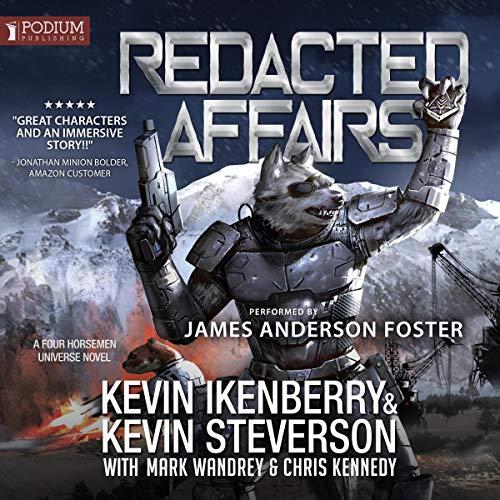 Redacted Affairs cover art
