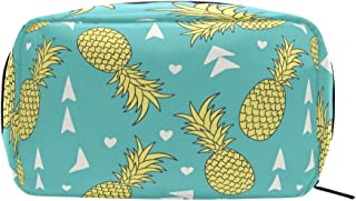 Blue Pineapple Cosmetic Bag Makeup Case Toiletry Pouch