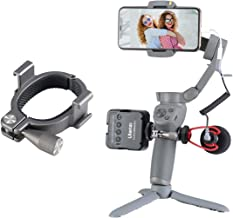 UURig Osmo Mobile 3 4 Mount, O-Ring 2 Hot Shoe Adapter for Microphone Light Flash Stand YouTube Vlog Filmmaking Accessory ...