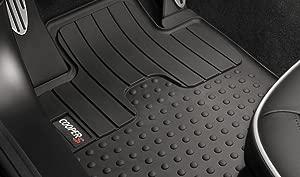 MINI Genuine All Weather Front Floor Mat Set Cooper R55 R56 R57 R58 51472243917