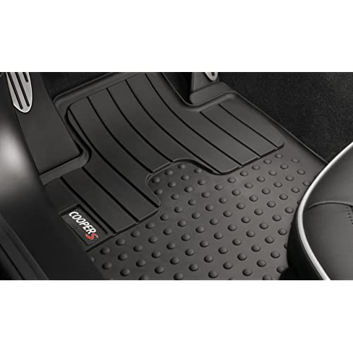 Quality FULLY TAILORED Black floor Car Mats fits to MINI COOPER R56 2006-2013