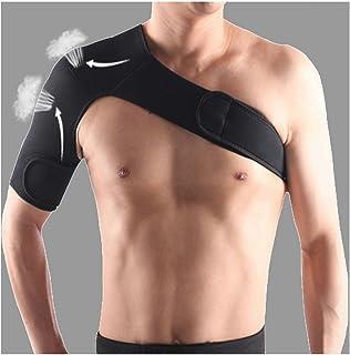 Vigorous - Correa de hombro ajustable de neopreno para artritis, deporte, apoyo, alivio del dolor, lesiones, unisex, se adapta al hombro derecho