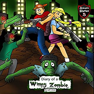 Diary of a Wimpy Zombie cover art