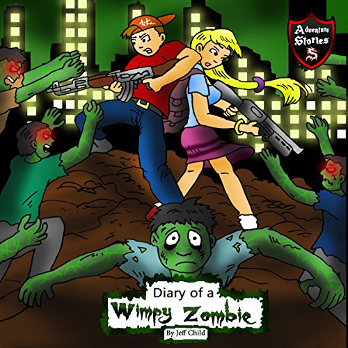 Diary of a Wimpy Zombie audiobook cover art