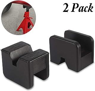 Partol Adaptador Jack Pad de borracha com ranhura universal para tomada de carro suporte suporte moldura ranhurada trail J...
