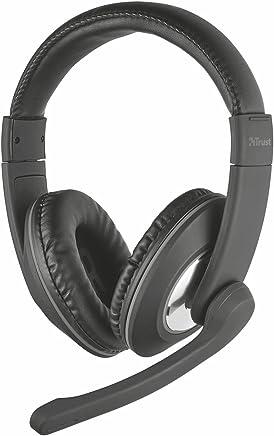 Trust Reno Cuffie Over-Ear con Controllo Volume Integrato e Microfono Regolabile, Nero - Trova i prezzi più bassi