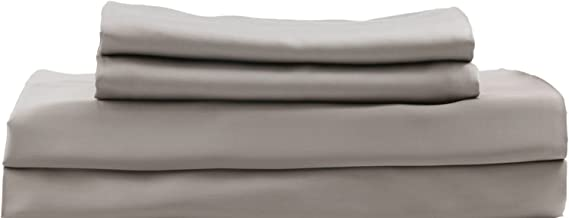 Hotel Sheets Direct 100% Bamboo 3 Piece Bed Sheet Set - Soft as Silk (Twin, Sand)