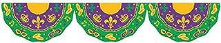 "Amscan Mardi Gras Bunting Garland, 11' x 16"", Multi Color"