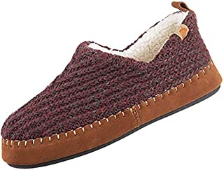 Acorn Women's Camden Recycled Moccasin Slippers with Berber Lining