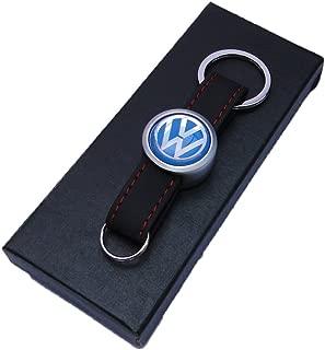 GTI VW Funda de piel y metal llavero y caja de regalo para ...