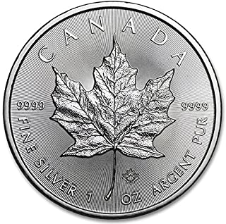 2015 Canada 1 oz Silver Coin With Air-Tite Holder 9999 Silver $5 Brilliant Uncirculated