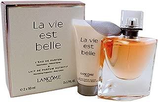Lancome Lancome La Vie Est Belle For Women 2 Piece Travel Set (1.7 Eau De Parfum Spray + 1.7 Body Lotion)