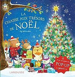 Livre La chasse aux trésors de Noël