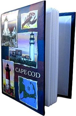 "MedsMaps Cape Cod Photo Album - Holds 100 4"" X 6"" Photos"