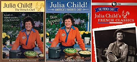 Julia Child's The French Chef Classic TV Cooking Series 3 DVD Collection
