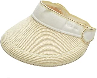 Sombrero de Sun Sombrero de verano de paja Sombrero de copa solar UV